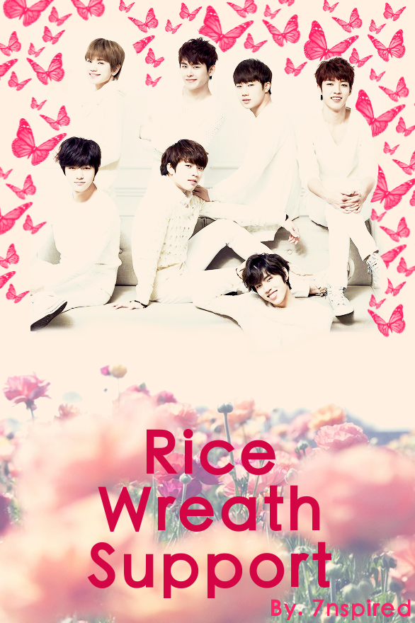 Rice Wreath Support