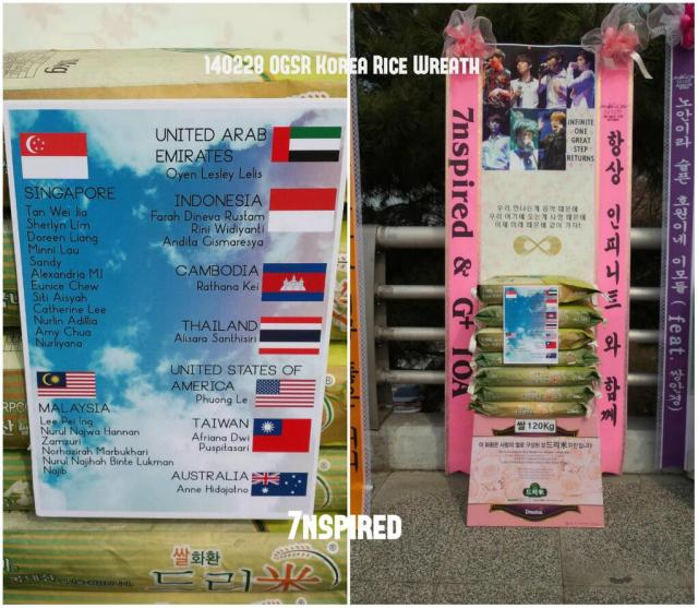 OGSR Rice Wreath on Concert Day(s)