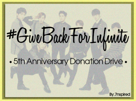 #GiveBackForInfinite